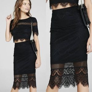🖤NWT EXPRESS Lace Skirt🖤